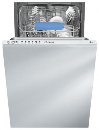Посудомоечная машина Indesit DISR 16M19 A EU серебристый