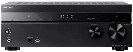 Ресивер Sony STR-DH770 7.2 черный набор для домашнего кинотеатра sony str dh770