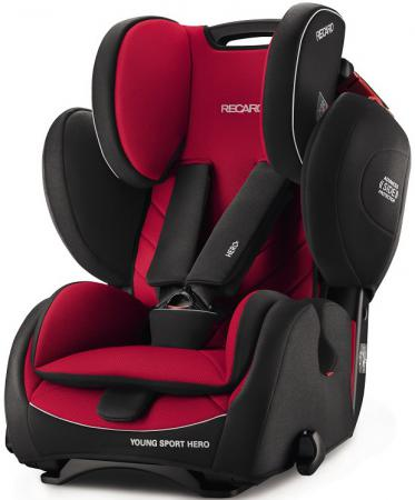 Автокресло Recaro Young Sport Hero (racing red) автокресло recaro optiafix carbon black
