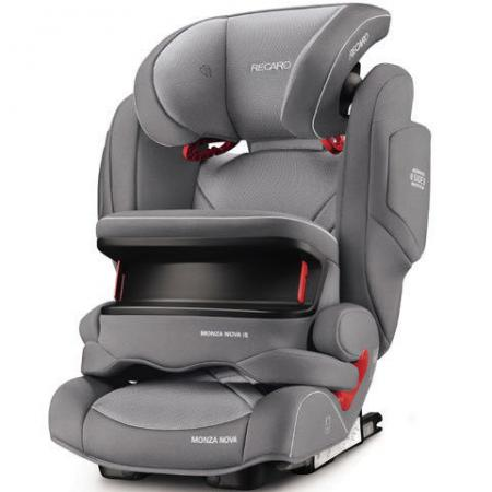 Автокресло Recaro Monza Nova IS Seatfix (aluminum grey) автокресло recaro monza nova 2 seatfix racing red 6151 21509 66
