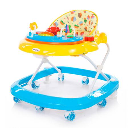 Ходунки Baby Care Sonic (yellow/blue) ходунки babyhit action blue