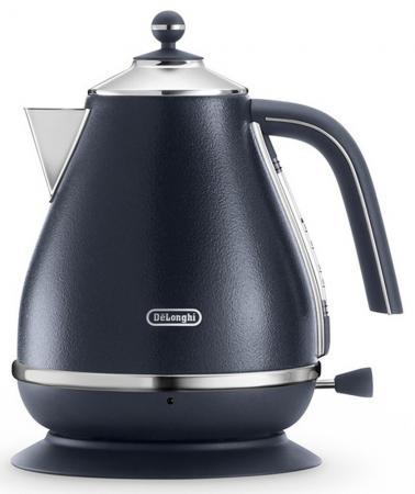Чайник DeLonghi KBOE2001 2000 Вт чёрный 1.7 л металл