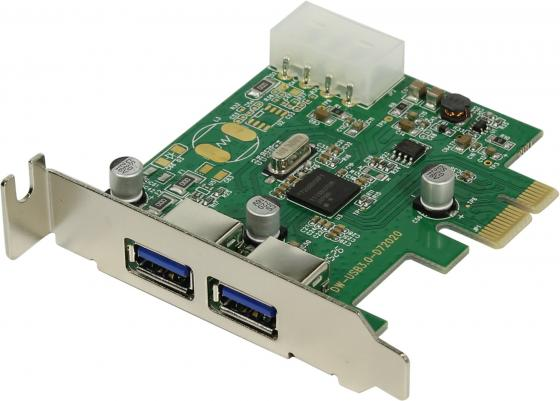 Контроллер PCI-E Orient NC-3U2PELP USB3.0 OEM pci e to