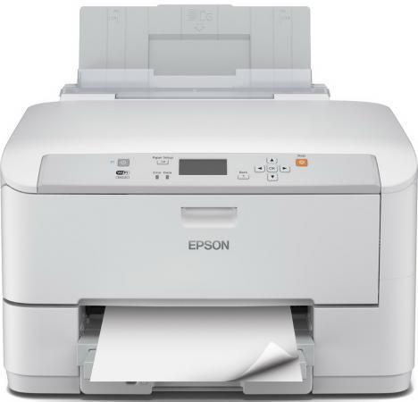 Принтер EPSON WorkForce Pro  WF-5110DW цветной A4 4800x1200dpi Wi-Fi Ethernet USB powder for epson workforce m 400 mfp for epson al m400 dtn for epson workforce al 400 mfp brand new universal powder
