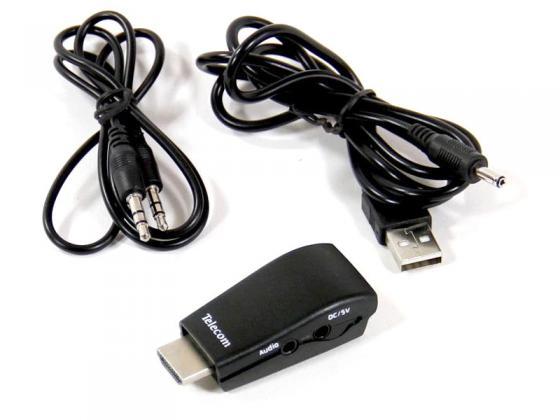 Переходник HDMI - VGA+аудио Telecom TTC4020 переходник telecom hdmi vga ta558