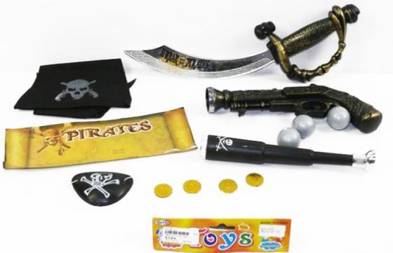 Набор оружия Shantou Gepai Пиратский U100-36 черный серый тарифный план