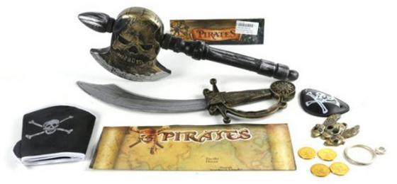 Оружие Shantou Gepai Пираты U99-A1 набор игровой пираты в пак