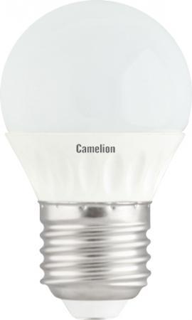 Лампа светодиодная шар Camelion LED3-G45/830/E27 E27 3W 3000K лампа светодиодная [поставляется по 10 штук] eglo лампа светодиодная g45 e27 4вт 3000k 10762 [поставляется по 10 штук]