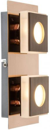 Настенный светодиодный светильник Globo 49403-2 накладной светильник 49403 2 globo
