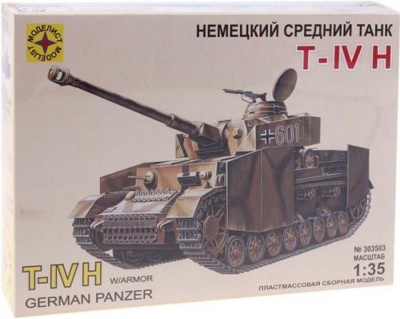 все цены на Танк Моделист T-IV H,1:35 1:35 коричневый 303503 онлайн