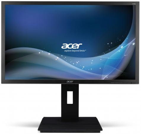 "Монитор 23.8"" Acer B246HYLAymdpr черный IPS 1920x1080 250 cd/m^2 6 ms DVI DisplayPort VGA Аудио"