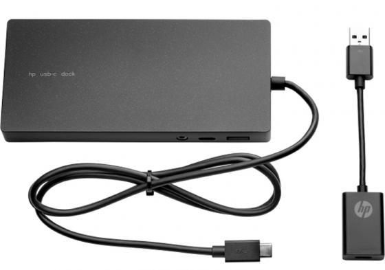 Док-станция для ноутбуков HP Elite USB-C Docking Station G2 Euro X7W54AA