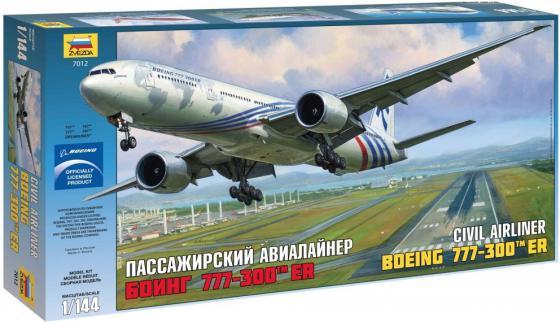 Самолёт Звезда Боинг 777-300ER 1:144 7012 самолёт звезда боинг 777 300er 1 144 7012