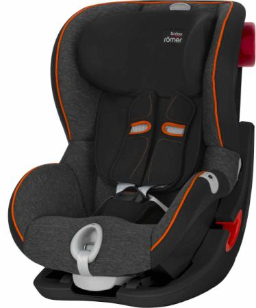 Автокресло Britax Romer King II LS Black Series ( marble highline)