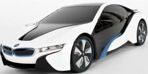 Машинка на радиоуправлении Rastar BMW I8 1:24 ассортимент от 3 лет пластик в ассортименте 48400 rastar радиоуправляемая модель bmw x6 цвет черный масштаб 1 24