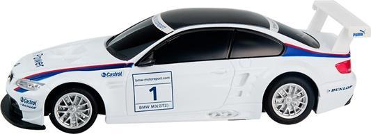 Машинка на радиоуправлении Rastar BMW M3 1:24 ассортимент от 3 лет пластик в ассортименте 48300 машинка на радиоуправлении rastar bmw i8 свет 1 14 ассортимент от 3 лет пластик в ассортименте 49600 11
