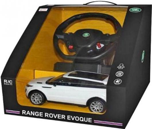 Машинка на радиоуправлении Rastar Range Rover Evoque ассортимент от 6 лет пластик в ассортименте 47900-8 набор автомобильных ковриков l locker land rover range rover evoque 2011 в салон 4 шт