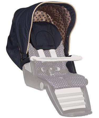 Сменный комплект Teutonia: капор + подлокотники + подголовник Set Canopy+Armrest+Headrest (цвет 6075) комплект teutonia комплект teutonia тевтония капор подлокотники подголовник set canopy armrest headrest 6125
