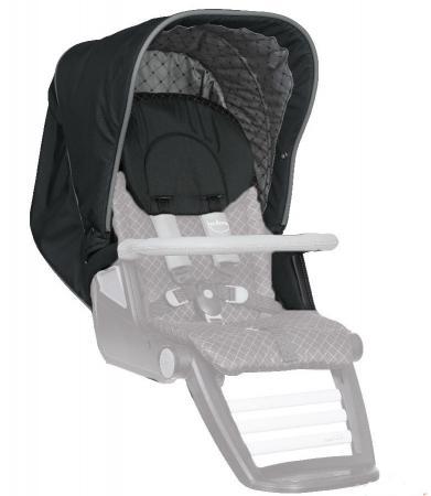 Сменный комплект Teutonia: капор + подлокотники + подголовник Set Canopy+Armrest+Headrest (цвет 6060) матрасик в коляску матрас teutonia seat cover цвет 6060