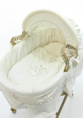 Корзина плетеная с капюшоном Fiorellino Luna Elegant корзина fiorellino prince фиореллино принц плетеная с капюшоном
