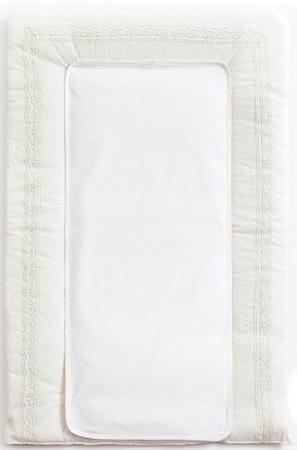 Покрывало-матрасик для пеленания 50х80см Fiorellino Premium Baby (белый) цена и фото