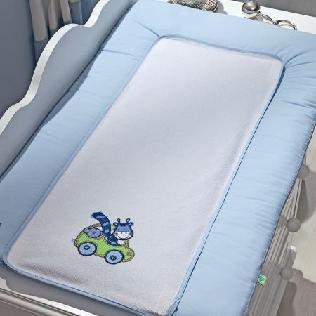 где купить Покрывало-матрасик для пеленания 50х80см Fiorellino Leo Teo по лучшей цене