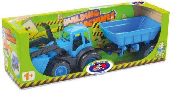 Трактор ZEBRATOYS 4660019430135 55,5 см цвет в ассортименте лопата zebratoys двухцветная 66 см в ассортименте