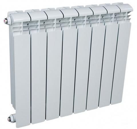 Радиатор алюминиевый Rifar Alum 500 500/90 8 секций 1464Вт  алюминиевый радиатор rifar alum 500 14 сек