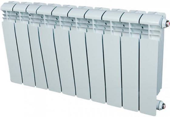 Алюминиевый радиатор Rifar Alum 350 350/90 12 секций 1668Вт левое подключение биметаллический радиатор rifar рифар b 500 нп 10 сек лев кол во секций 10 мощность вт 2040 подключение левое