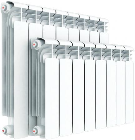 Алюминиевый радиатор Rifar Alum 350 350/90 14 секций 1946Вт левое подключение биметаллический радиатор rifar рифар b 500 нп 10 сек лев кол во секций 10 мощность вт 2040 подключение левое