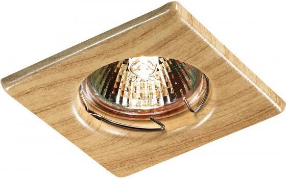 Купить Встраиваемый светильник Novotech Wood 369716