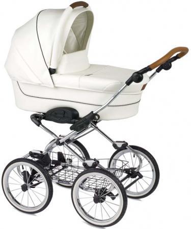 Коляска для новорожденного Navington Caravel (колеса 12/цвет royal snow)
