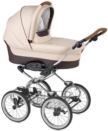 Коляска для новорожденного Navington Caravel (колеса 14/цвет royal sand/EVA Wels) коляска для новорожденного