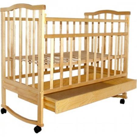 Кроватка-качалка Агат Золушка-2 (светлый)