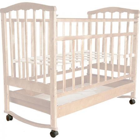 Кроватка-качалка Агат Золушка-2 (слоновая кость) цены онлайн