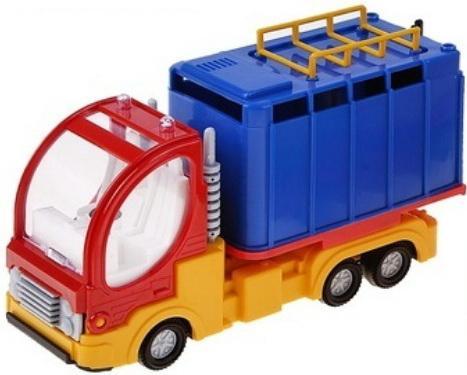 Купить Фургон ФОРМА Малый фургон «Дальнобойщик» 18.5 см цвет в ассортименте, Игрушечные машинки