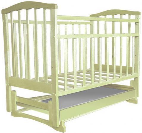 Кроватка с маятником Агат Золушка-6 (слоновая кость) кроватка с маятником sweet baby eligio avorio слоновая кость