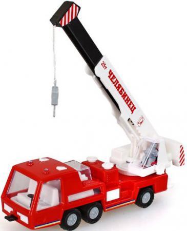 Купить Автокран ФОРМА Супер - мотор красный 4607038550024, Игрушечные машинки