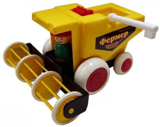Купить Комбайн ФОРМА Детский сад 21.5 см желтый С-86-Ф, Игрушечные машинки