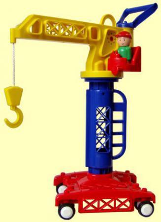 цена на Башенный кран Форма Детский сад 39 см разноцветный С-81-Ф