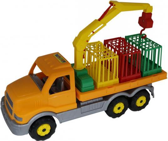 Автомобиль ПОЛЕСЬЕ для перевозки зверей 47,5 см разноцветный 4810344044204