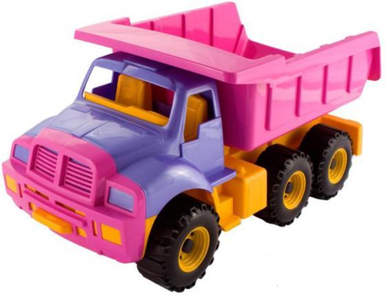 Самосвал Нордпласт Топаз 47 см розовый 066/1 игрушка нордпласт топаз 066 1h