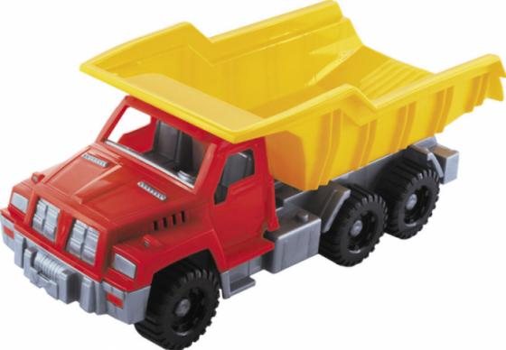 Грузовик Нордпласт большой 36 см разноцветный 147 грузовик нордпласт кроха 016 19 см разноцветный в ассортименте