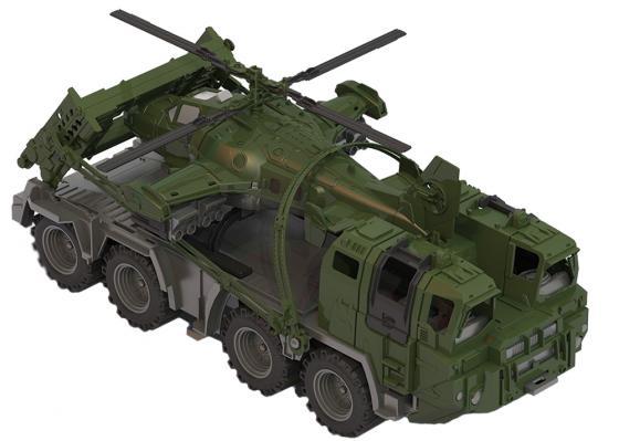 Тягач Нордпласт Щит с вертолетом 256 70 см хаки 256 футболка только вертолетом