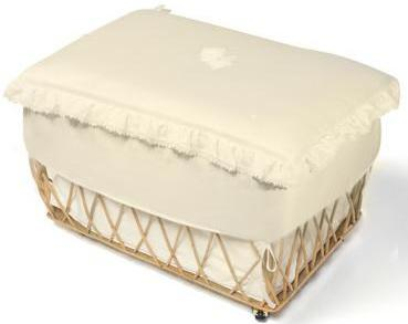 Плетеная корзина Italbaby Love (крем/630,0040-6) ящик italbaby ящик для игрушек italbaby love крем