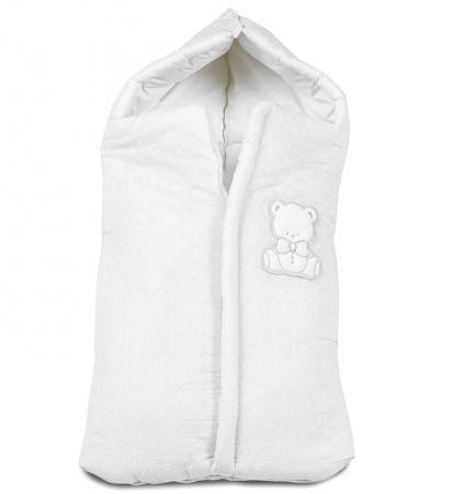 Конверт на молнии 40х80см для коляски Italbaby Amore (белый/735.0082-5) italbaby детская кроватка люлька italbaby sweet angels