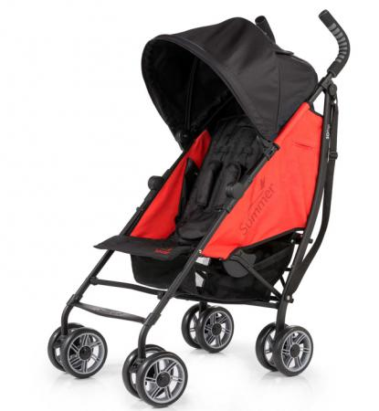 Коляска прогулочная Summer Infant 3D Flip Stroller (black/grey red 2L)