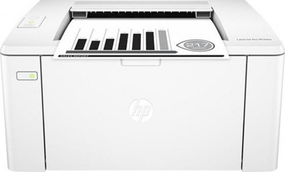 Принтер HP LaserJet Pro M104w RU G3Q37A ч/б A4 22ppm 600x600dpi 128Mb Wi-Fi принтер hp laserjet pro m104w g3q37a