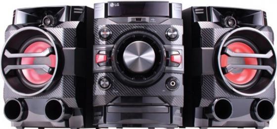 Минисистема LG DM5360K 60Вт черный минисистема lg cj45