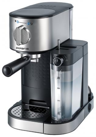 Кофеварка Polaris PCM 1519AE 1350 Вт серебристый шорты с английской вышивкой 100